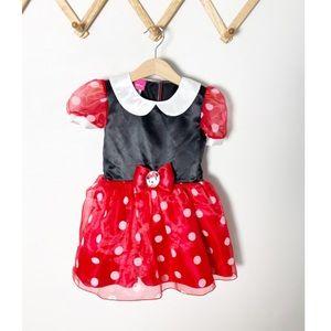 Disney Minnie Mouse Halloween Costume Dress up 2T